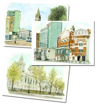 Central Belfast Prints