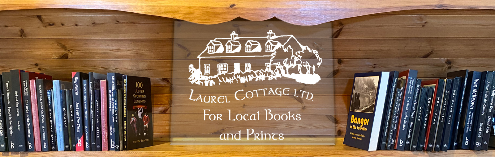 Laurel Cottage home of Cottage publications and Ballyhay books